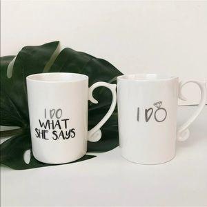 Other - Set of 2 Wedding Mugs